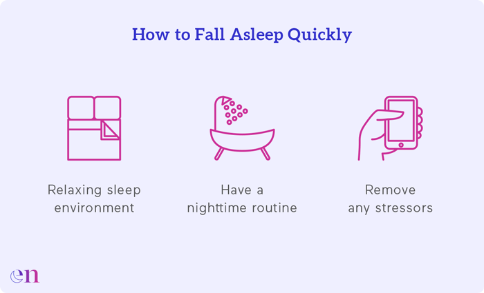 how to fall asleep quickly